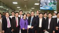 Lãnh đạo Bộ Y tế thăm Bệnh viện Đa khoa Thành phố Vinh - mô hình bệnh viện tự chủ đầu tiên tại Nghệ An