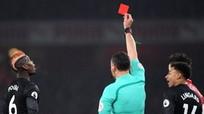 Man Utd đả bại Arsenal dù Pogba dính thẻ đỏ
