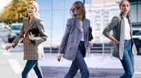 4 cách phối đồ cùng áo blazer ca rô thời thượng