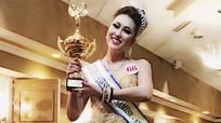 Người đẹp 'dao kéo' Phi Thanh Vân đăng quang hoa hậu ở Mỹ