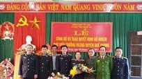 Quế Phong: Công bố quyết định bổ nhiệm Phó Viện trưởng Viện Kiểm sát nhân dân huyện
