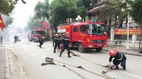 Nghệ An: Sáp nhập Cảnh sát PCCC vào Công an tỉnh