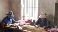 Làng nghề hương trầm Quỳnh Đôi 'vào' vụ Tết