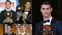 C.Ronaldo giành Quả Bóng Vàng thứ 5