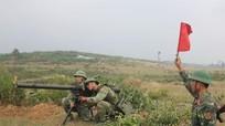 Sư đoàn 324 diễn tập tiến công địch ngoài thực địa