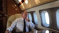 Dàn Su-35 hộ tống ông Putin thăm đột xuất Syria