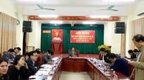 Thị xã Hoàng Mai bầu bổ sung Ủy viên Ban thường vụ Thị ủy
