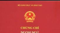 Nghệ An không có cơ sở được cấp chứng chỉ ngoại ngữ  6 bậc dùng cho Việt Nam
