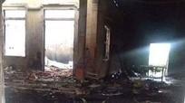 Cháy cửa hàng bán chăn ga, ước tính thiệt hại 1 tỷ đồng