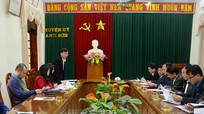 Đẩy mạnh tuyên truyền hình ảnh Anh Sơn trên Báo Nghệ An