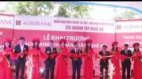Khai trương Agribank chi nhánh Tây Nghệ An