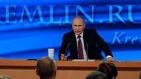 Họp báo cuối nhiệm kỳ của Tổng thống Nga Putin sẽ 'rất đặc biệt'