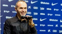 Iniesta: 'Thật công bằng khi Ronaldo có 5 Quả Bóng Vàng'
