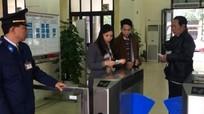 Soát vé tàu tự động tại các ga chính thức thực hiện từ 15/12