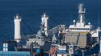 Cập nhật hình ảnh tàu hộ vệ tên lửa trên đường về Việt Nam