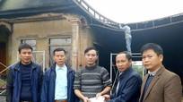 Hỗ trợ 20 triệu đồng cho gia đình bị hỏa hoạn ở Nghĩa Đàn