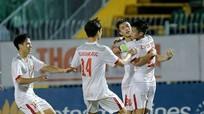 Tiền đạo SLNA lập công, U21 Việt Nam đánh bại U21 Myanmar