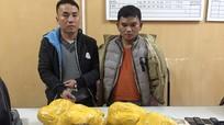 Bị vây bắt, 2 đối tượng vận chuyển 20kg thuốc phiện điên cuồng chống trả