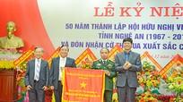 Hội hữu nghị Việt Nam- Lào tỉnh Nghệ An: Đón nhận Cờ thi đua xuất sắc của Chính phủ