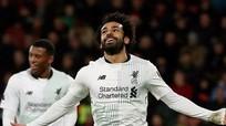 Liverpool trở lại top 4 với trận đại thắng Bournemouth