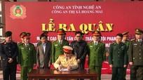 TX.Hoàng Mai, Thái Hòa mở đợt cao điểm tấn công tội phạm