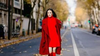 Hồ Quỳnh Hương 'lột xác' khi dạo phố Paris