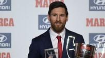 Messi lập kỷ lục 5 lần giành giải Cầu thủ hay nhất La Liga