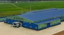 Quy hoạch điều chỉnh mở rộng khu công nghiệp Nghĩa Mỹ, thị xã Thái Hòa