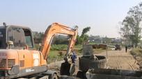 Xã Hiến Sơn đầu tư 11 tỷ đồng làm đường bê tông