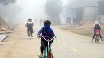 Người dân miền núi Nghệ An co ro trong giá rét