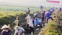 Nghệ An: Tổng giá trị đợt ra quân làm thủy lợi đạt hơn 98 tỷ đồng