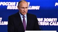 Putin tuyên bố kinh tế Nga đã thoát khỏi suy thoái