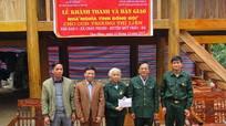 Quỳ Châu: Bàn giao nhà nghĩa tình đồng đội cho cựu chiến binh