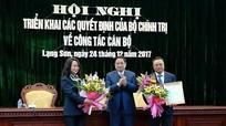 Phó trưởng ban Tuyên giáo Trung ương được điều động làm Bí thư Tỉnh ủy Lạng Sơn