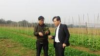 Hội đồng thẩm định NTM tỉnh làm việc tại Hưng Nguyên
