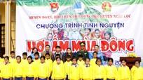 1.000 áo ấm đến với học sinh nghèo