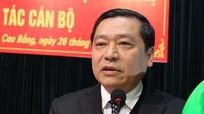 Chủ tịch Hội Nông dân Việt Nam làm Bí thư Tỉnh ủy Cao Bằng