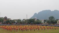 Anh Sơn: Hơn 1.100 vận động viên tham gia Hội khỏe Phù Đổng