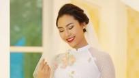 Ngắm những mẫu áo dài cưới hot nhất 2018