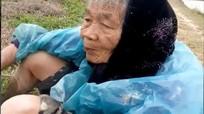 Cụ bà 84 tuổi lặn lội làm ruộng giữa trời giá rét khiến cư dân mạng xót xa