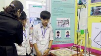 241 dự án tham dự cuộc thi Khoa học kỹ thuật học sinh trung học