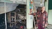 Cháy cửa hàng tạp hóa, thiệt hại khoảng 300 triệu đồng