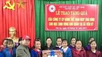 Trao 800 áo ấm cho học sinh vùng sâu Tân Kỳ