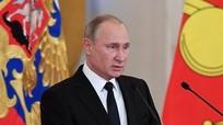 Ông Putin tặng phần thưởng nhà nước cho quân nhân chiến đấu ở Syria