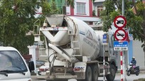 TP Vinh: Đề xuất cấm lưu thông ban ngày đối với các loại xe bồn, xe chở vật liệu cồng kềnh