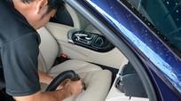 Cách làm sạch ghế da ô tô bị ố bẩn