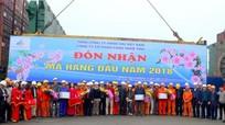 Cảng Nghệ Tĩnh đón mã hàng đầu năm 2018