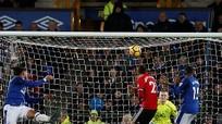 Man Utd đánh bại Everton để trở lại ngôi nhì bảng