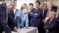 Dân mạng thảo luận về bức ảnh Merkel và Trump ở Hội nghị thượng đỉnh G7