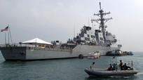 Mỹ đưa tàu khu trục vào Vịnh Ba Tư để tấn công Syria